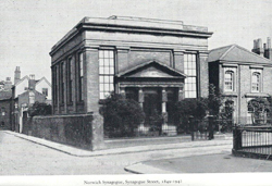 The Old synagogue in Norwich